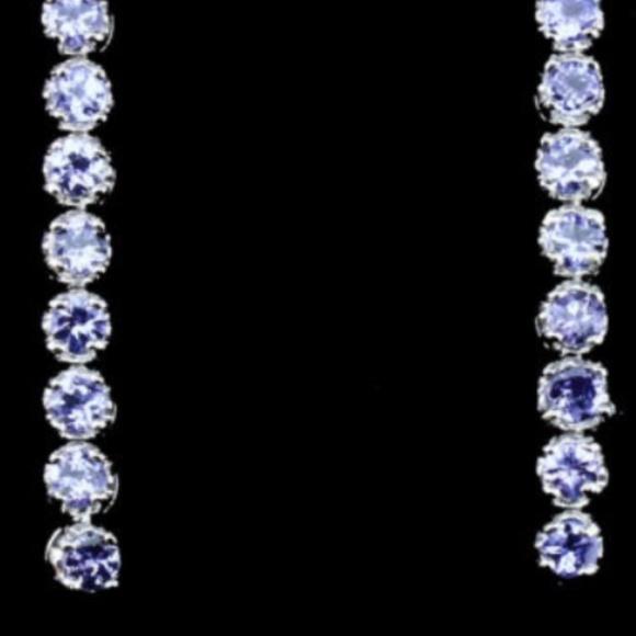 Genuine Tanzanite earrings